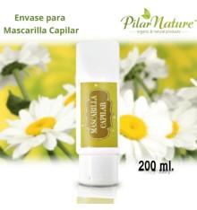 Envase para Mascarilla Capilar 200 ml Pilar Nature
