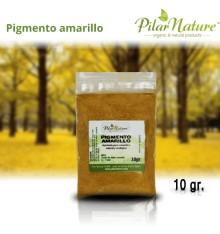 Pigmento Óxido amarillo  10 gr. Pilar Nature
