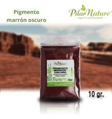 Pigmento Óxido Marrón oscuro 10 gr. Pilar Nature