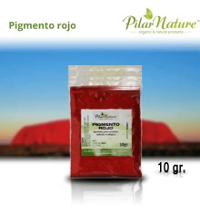 Pigmento Óxido Rojo 10 gr. Pilar Nature