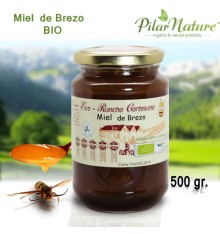 MIEL DE BREZO 500 GR. ECOLÓGICA - PILAR NATURE- R. CORTESANO