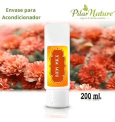 Envase para Body Milk 200 ml Pilar Nature