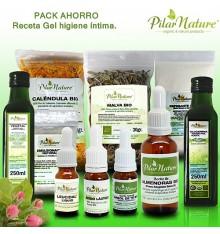 PACK AHORRO Receta Jabón / Gel higiene íntima ecológico Pilar Nature
