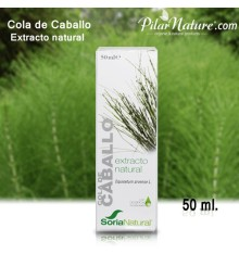 Cola de Caballo-Extracto de glicerina vegetal 50 ml.