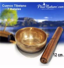 CUENCO TIBETANO 7 METALES 12 CM