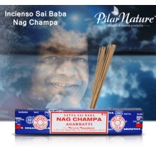 Incienso Nag Champa Sai Baba 15 gr.