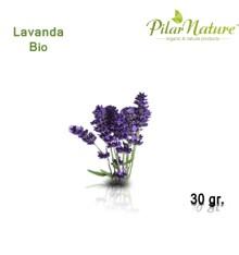 Lavanda (Lavandula officinalis) de cultivo biológico 30 gr