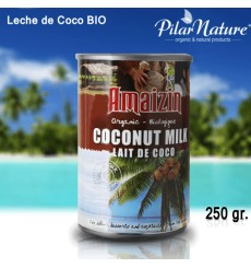 Leche de Coco BIO, Amaizin 400 ml.
