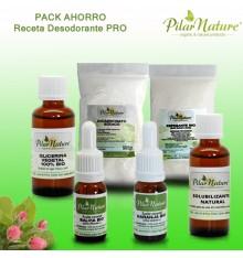 PACK AHORRO Receta desodorante Pro Pilar Nature
