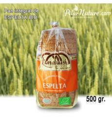 Pan de Espelta integral100% puro BIO, 500 g