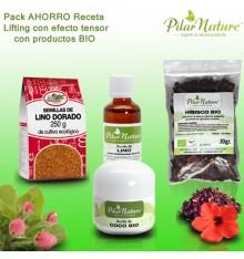 Pack AHORRO Receta lifting con efector tensor Pilar Nature