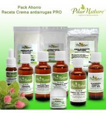 Pack AHORRO receta Crema antiarrugas profesional by Pilar Nature
