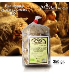 Molletes de queso y orégano ecológico 350 gr. (5 uds.)
