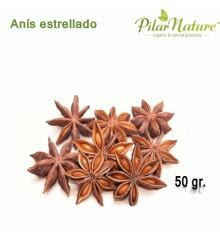 Anis estrellado, cultivo ecológico,  60 g Pilar Nature