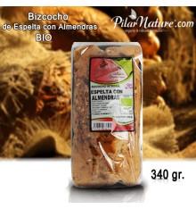 Bizcocho Integral de Espelta con Almendras, BIO