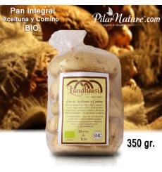 Molletes de aceituna y comino ecológico 350 gr. (5 uds.)