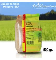 Azúcar de caña Mascavo, BIO, Biospirit 500 gr.