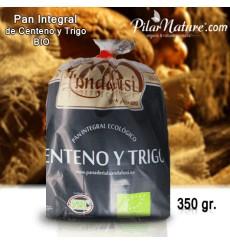 Molletes de centeno ecológico 350 gr. (5 uds.)