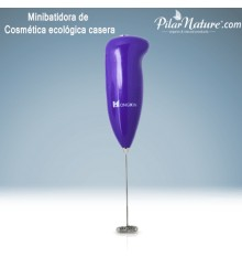 Minibatidora para cosmética ecológica casera