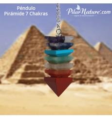 Péndulo pirámide Chakra