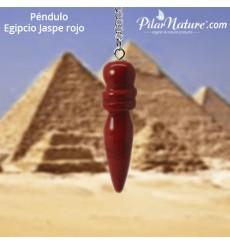 Péndulo Jaspe rojo egipcio Pilar Nature