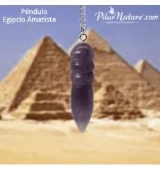 Péndulo egipcio amatista