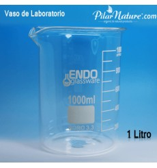 Vaso de laboratorio, 1000 ml