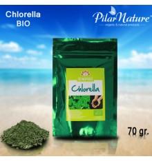 Clorela/Chlorella, BIO, 70 GR. ISWARI