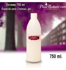 Envase  Pilar Nature, 750 ml