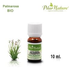 Aceite Esencial Palmarosa BIO (Cymbopogon martinii), Pilar Nature 10 ml