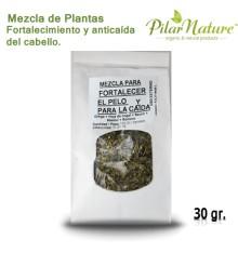 Mezcla para FORTALECIMIENTO Y ANTICAÍDA DEL CABELLNATURE, 30 gr.