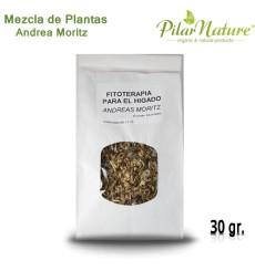 Fitoterapia hepática (Andrea Moritz), Mezcla Plantas  30 g
