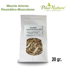 Mezcla Dolores reumáticos-musculares, 30 gr