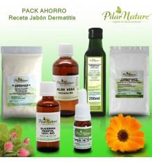 Pack AHORRO Receta Champú o shampoo para dermatitis by Pilar Nature