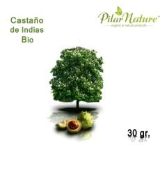 Castaño de Indias (Aesculus hippocastanum) de cultivo biológico 30 g.