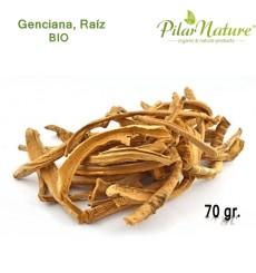 Genciana, Raíz (Gentiana Lutea) BIO, 70 g